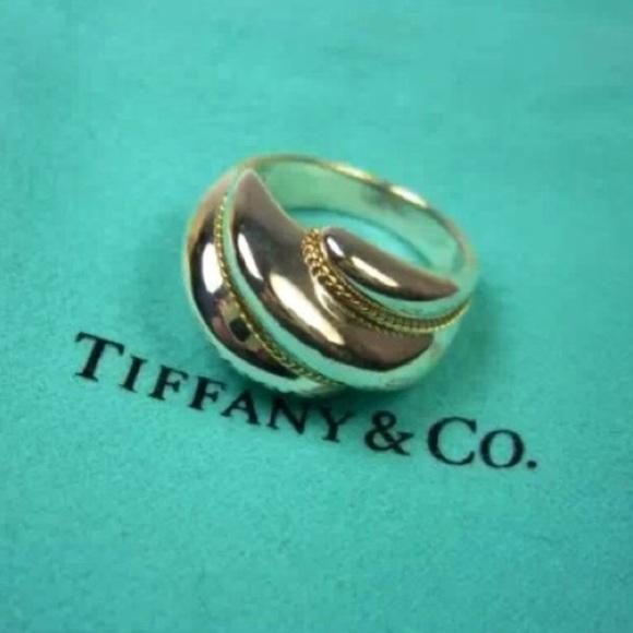 e09e46325 Tiffany & Co. Jewelry   Tiffany Co Vintage Swirl Ring   Poshmark